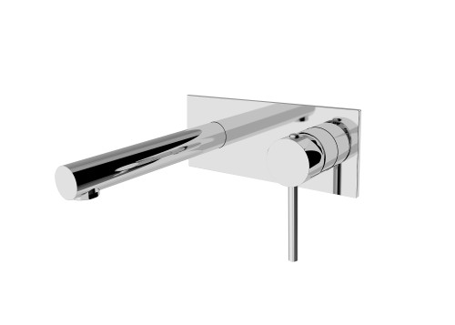 Wall Basin Mixer(Straight Spout) -Chrome [194961]