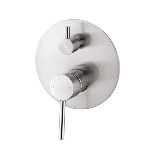 Shower Mixer With Divertor-Brushed Nickel [194967]