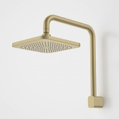 Luna Fixed Overhead Shower Brushed Brass [194628]