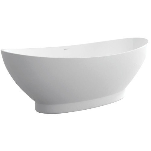 Antonia 1550 Freestanding Cast Stone Bath [158171]