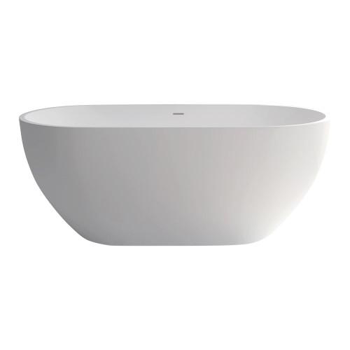 Nero 1400 Freestanding Cast Stone Bath [158190]