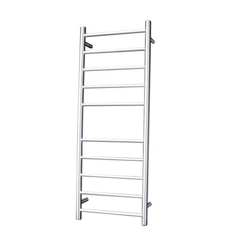 Radiant BRU-RTR430 Heated Round Ladder 430 X 1100 mm Brushed Satin LEFT HAND WIRED [137671]