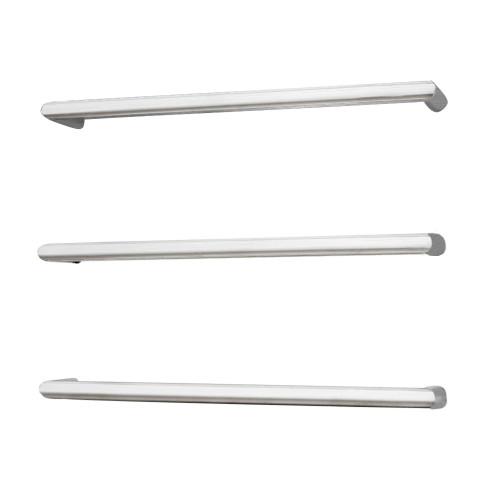 Radiant BRU-SBRTR-650 Single Round Bar 650mm Brushed Satin [137682]
