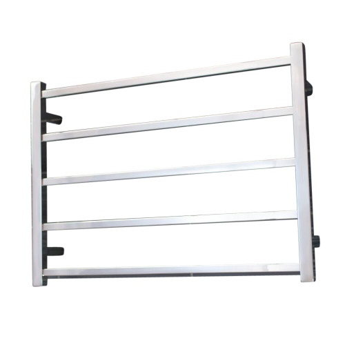 Radiant SLTR03-750 Non-Heated Square Ladder 750 X 550 mm Mirror Polished [154154]