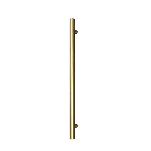 Radiant GLD-VTR-950 Vertical Rail 40 x 950mm Brushed Gold [190560]