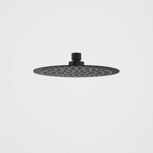 Urbane II Rain Shower - 200mm Round - 4 Star- Matte Black [195237]