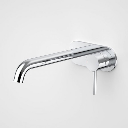 Liano II 210mm Wall Basin / Bath Mixer - Rounded Cover Plate - Chrome - Sales Kit [196035]