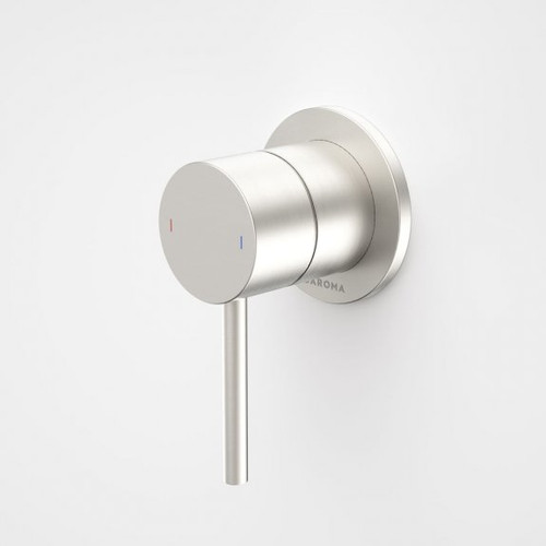 Liano II Bath / Shower Mixer - Round Cover Plate - Brushed Nickel - Sales Kit [196049]