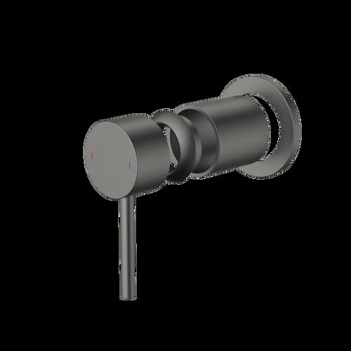 Liano II Bath / Shower Trim Kit - Round - Gunmetal [196056]