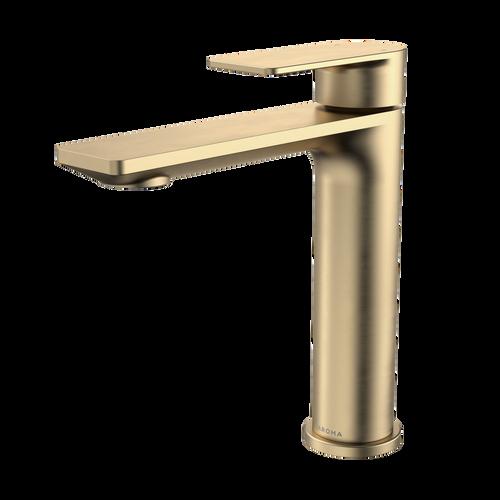 Urbane II Mid Tower Basin Mixer - Brushed Brass [196095]