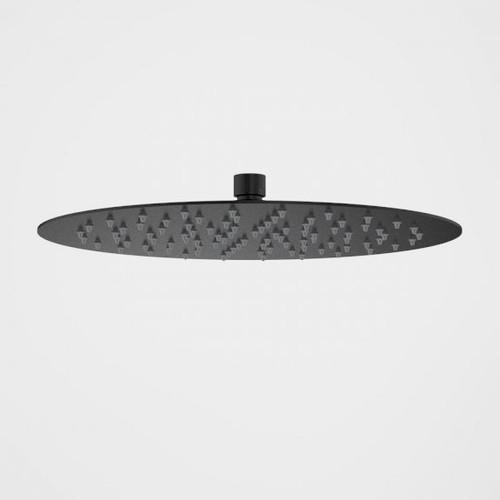 Urbane II Rain Shower - 300mm Round - Matte Black [196157]