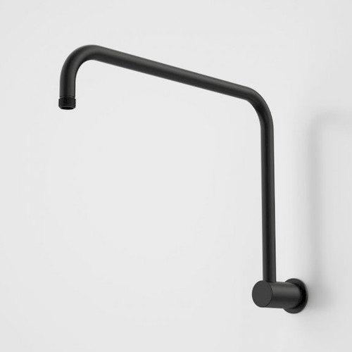 Urbane II Upswept Shower Arm - 400mm - Matte Black [196192]