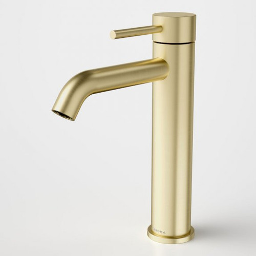 Liano II Mid Tower Basin Mixer - Brushed Brass [195998]