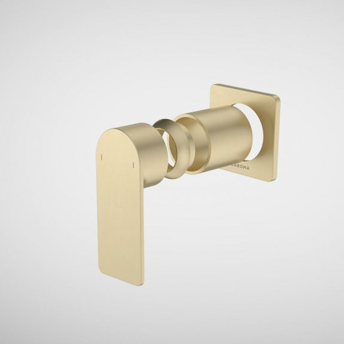 Urbane II Bath / Shower Trim Kit - Square Cover Plate - Brushed Brass [196230]