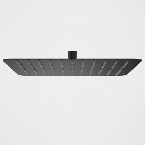 Urbane II Rain Shower - 300mm Square - Matte Black [196234]