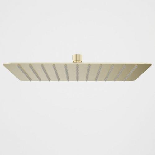 Urbane II Rain Shower - 300mm Square - Brushed Brass [196235]