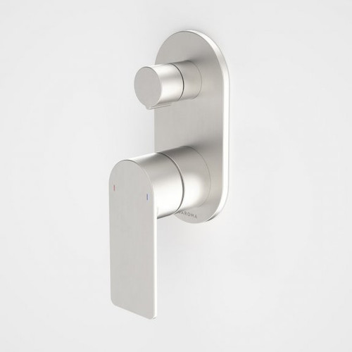 Urbane II Bath / Shower Mixer With Diverter - Round Cover Plate - Brushed Nickel - Sales Kit [196241]