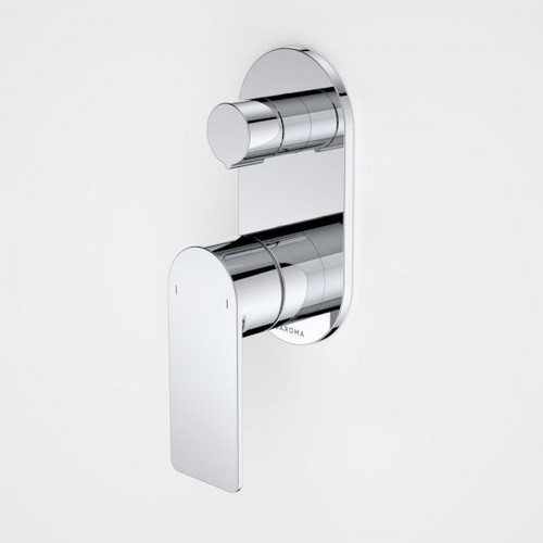 Urbane II Bath / Shower Mixer With Diverter - Round Cover Plate - Chrome - Sales Kit [196242]