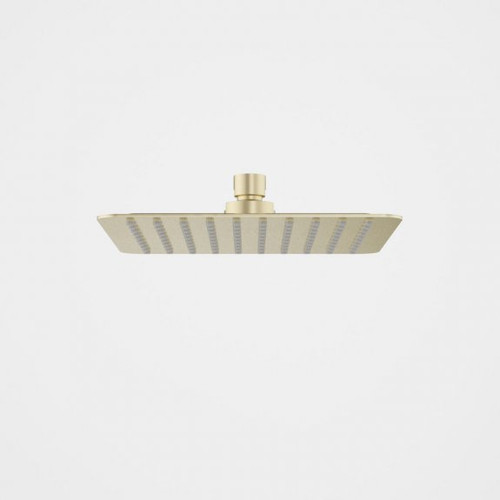 Urbane II Rain Shower - 200mm Square - 4 Star - Brushed Brass [196268]