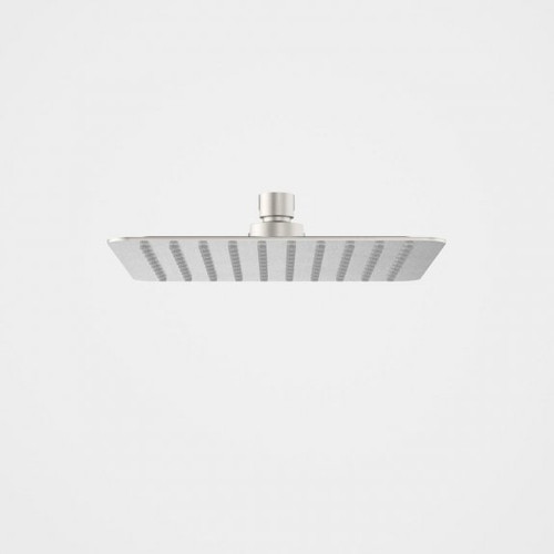 Urbane II Rain Shower - 200mm Square - 4 Star - Brushed Nickel [196269]