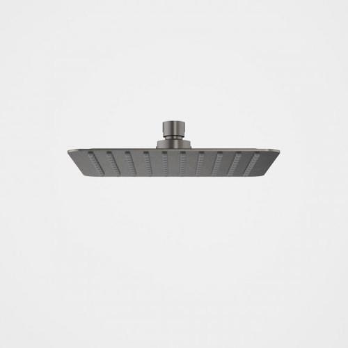 Urbane II Rain Shower - 200mm Square - 4 Star - Gunmetal [196271]