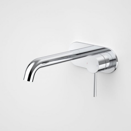 Liano II 175mm Wall Basin / Bath Mixer - Rounded Cover Plate - Chrome - Sales Kit [196015]