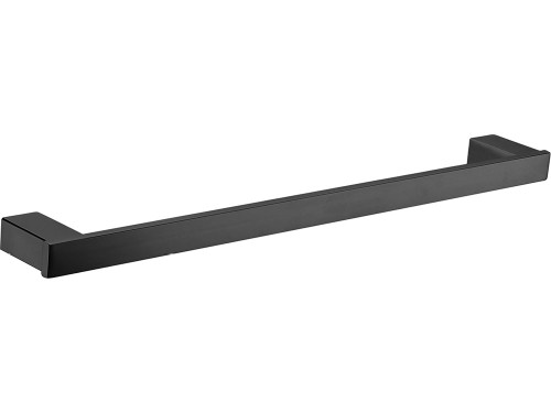 Koko Matte Black Single Towel Rail 610mm [168959]