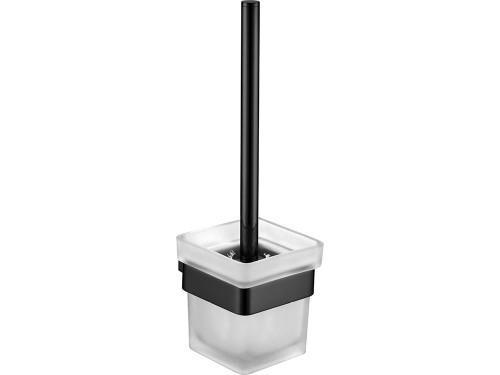 Koko Matte Black Toilet Brush & Holder [168964]