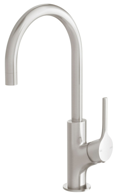 Vivid Slimline Oval Sink Mixer 160mm Gooseneck [199087]