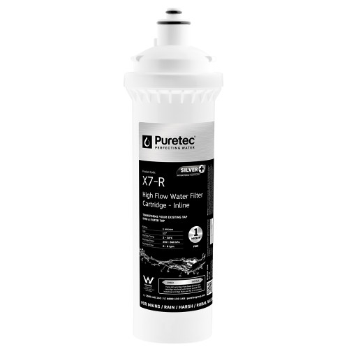 "PureMix X7 Replacement Water Filter Cartridge, 12"", 1 Micron [139376]"