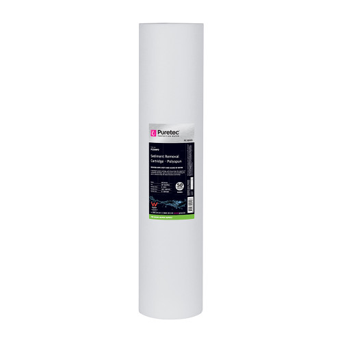 "Polyspun Sediment Water Filter Cartridge, 20"", MaxiPlus, 5 Micron [139379]"