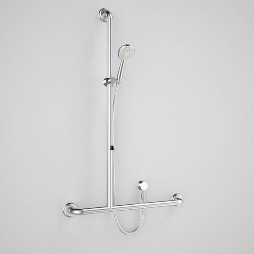 Caroma Plus Starsafe II Inverted T Accessible Shower Set - Left Hand [166556]