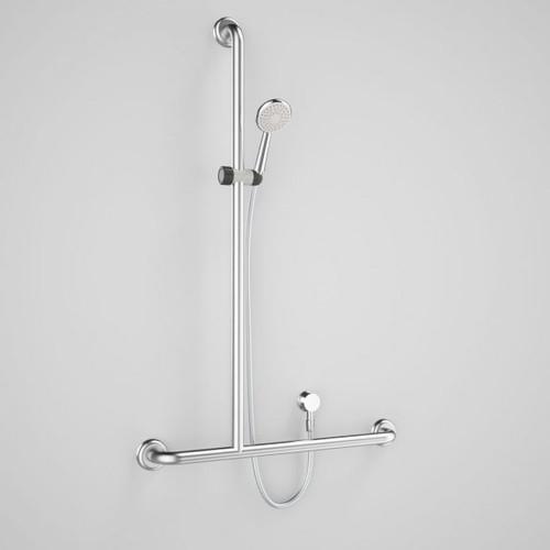 Caroma Plus Starsafe II Inverted T Shower Set - Left Hand [166557]