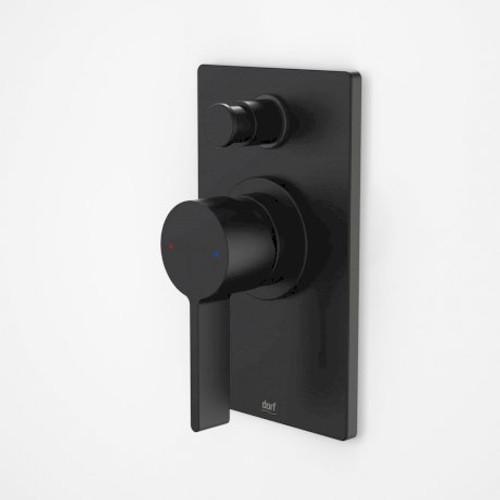 Enigma Bath/Shower Mixer With Diverter Black [152073]