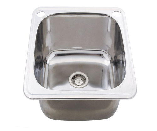 Classic 35L Slim Utility Sink with Overflow [191427]