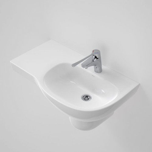 Care 700 Wall Basin with Left Hand Shelf - 1TH [192199]