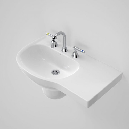 Care 700 Wall Basin with Right Hand Shelf - 3TH [192202]