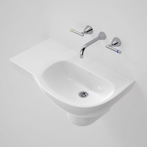 Care 700 Wall Basin with Left Hand Shelf - 0TH [192203]