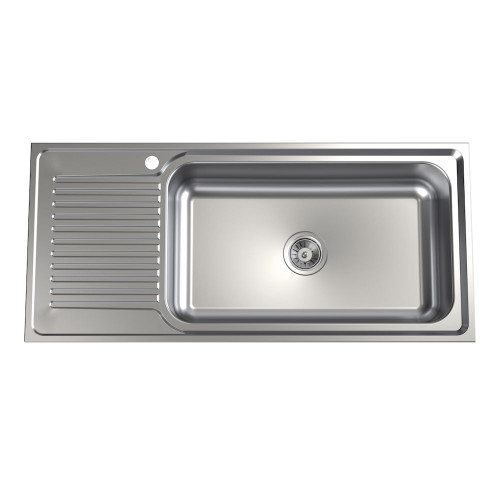 Punch Mega Bowl Sink - 1TH, RHB [192388]
