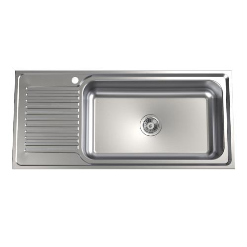 Punch Mega Bowl Sink - 1TH, RHB [192388]