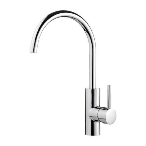 Medea Curved Gooseneck Sink Mixer [130810]