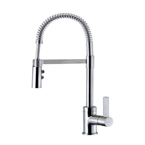 Culinary Gaston Pull Down Sink Mixer (Satin) [150577]