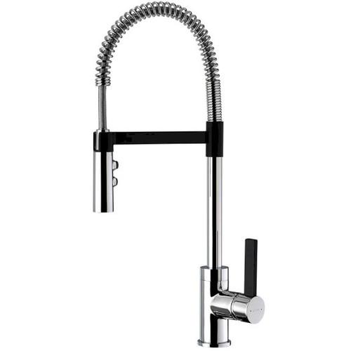 Culinary Gaston Sink Mixerpull Down Black Accent [150578]