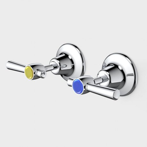 Caravelle Classic Cross Wall Tap Set [192286]