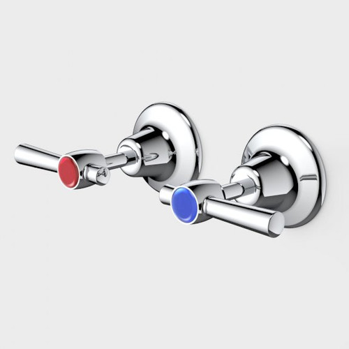 Caravelle Classic Lever Wall Tap Set [192287]