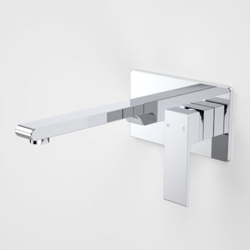 Aura Wall Basin/Bath Mixer Rectangle Back Plate [153011]