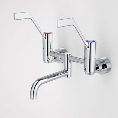 G Series+ Underslung Exposed Wall Sink Set (200mm outlet + 150mm handles) [192954]