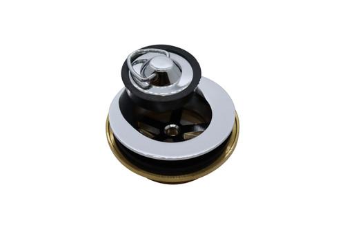 Plug and Waste 32mm x 40mm, Euro with Bowen Plug. Chrome [104849]