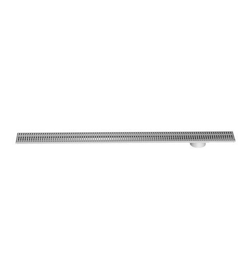 Long As You Like Shower Channel Kit. 1200mm, 316 Stainless Steel. Bar Grate [153453]