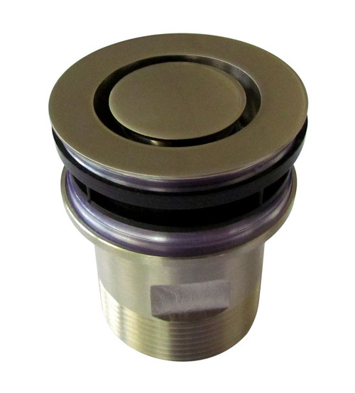 Basin Pop Down ® Plug and Waste, 40mm Connection. Brushed Nickel [159981]